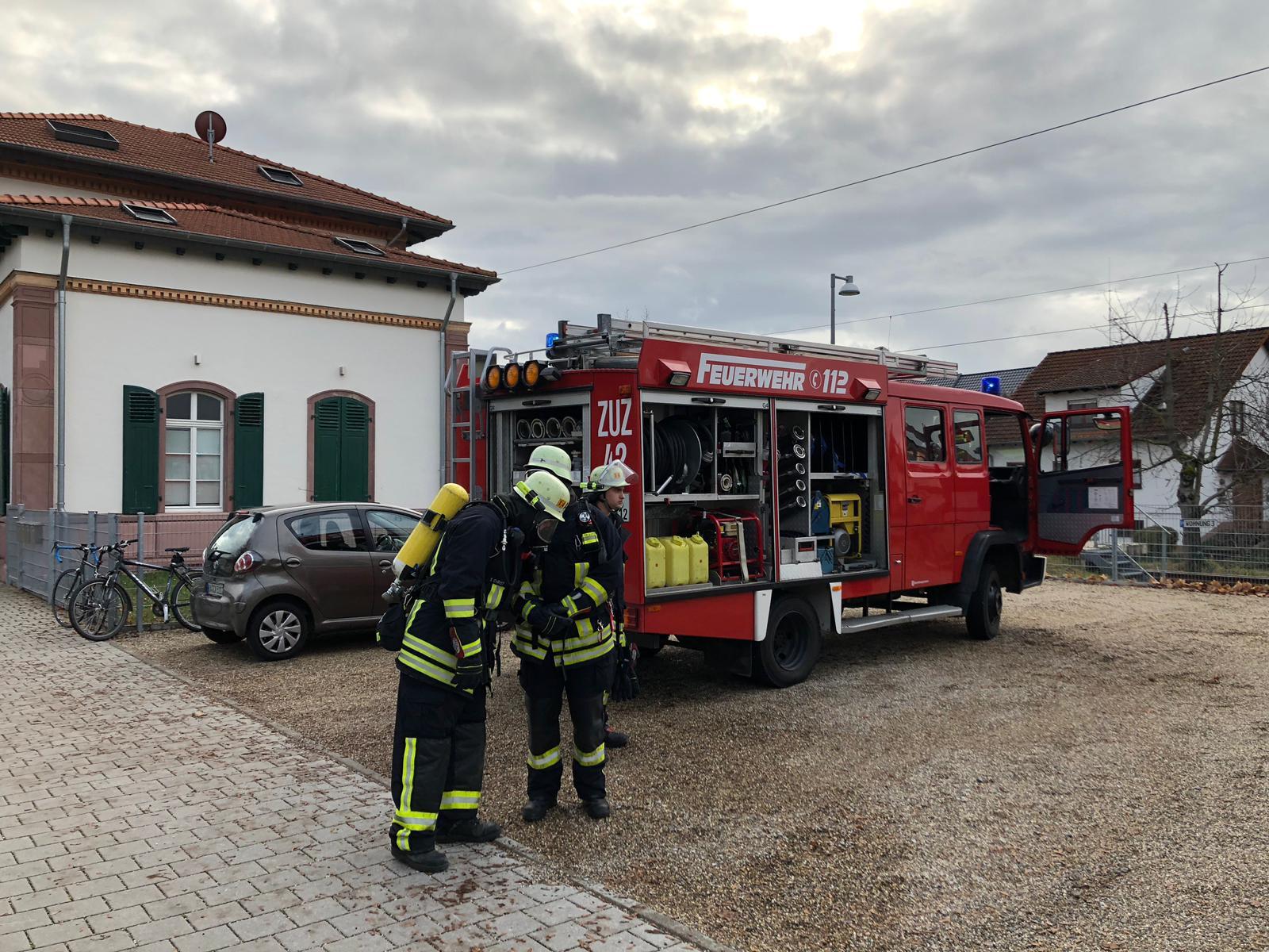 Brandeinsatz klein